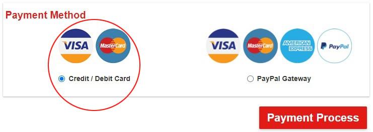 Credia/Debit Card